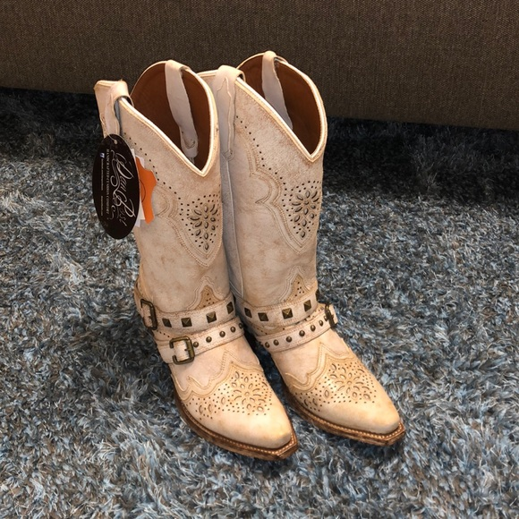 ❌SOLD❌ Brand New Women's Dan Post Off White Boots
